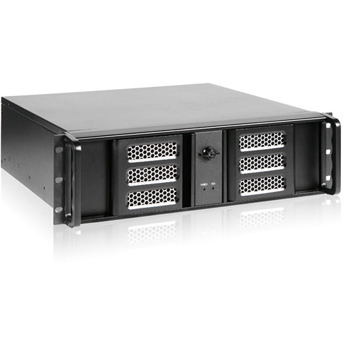 iStarUSA D-313ASE-MATX 3 RU Compact Aluminum Rackmount microATX Chassis with TC-700PD8B 700W Power Supply