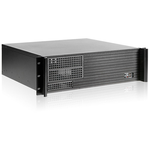 iStarUSA D-313SE-MATX 3U Compact Chassis with TC-700PD8B 700W Power Supply