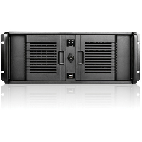 iStarUSA D Storm Series D-400-7P 4U Compact Stylish Rackmountable Chassis (Black)