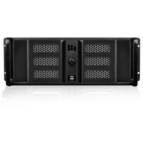 iStarUSA D Storm Series D-400L-7SE 4U High Performance Rackmountable Chassis (Black Bezel)