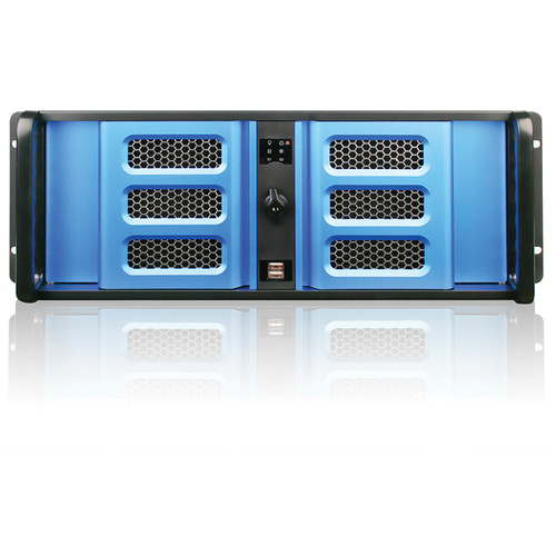 iStarUSA D Storm Series D-400S3SE 4U Ultra Compact Rackmountable Chassis (Black)