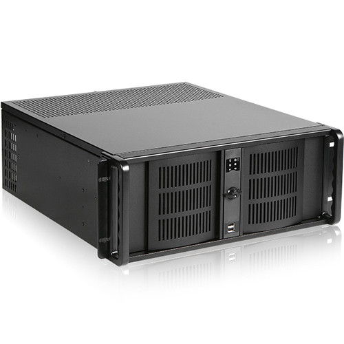iStarUSA D-406 4 RU Compact Rackmount Chassis with 1000W Power Supply