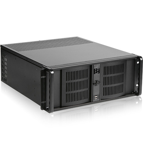 iStarUSA D-406 4 RU Compact Rackmount Chassis with 800W Power Supply