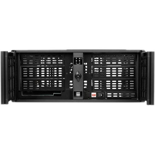 iStarUSA D-406-SD 4U Compact Stylish Rackmountable Chassis (Black)