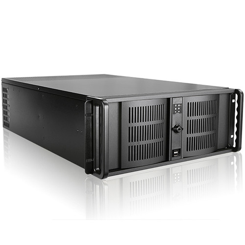 iStarUSA D-407L 4 RU High-Performance Rackmount Chassis with 800W Power Supply
