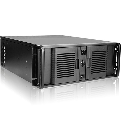 iStarUSA D-407P 4 RU Compact Rackmount Chassis with 1000W Power Supply