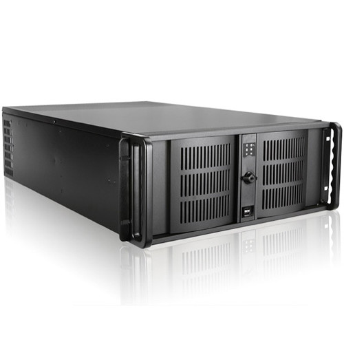 iStarUSA D-407P 4 RU Compact Rackmount Chassis with 500W Power Supply