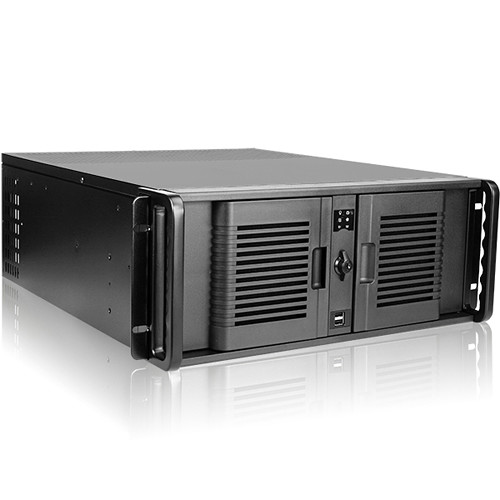 iStarUSA D-407P 4 RU Compact Rackmount Chassis with 800W Power Supply
