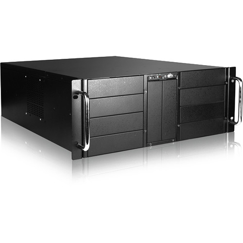 iStarUSA D Storm 10-Bay Rackmount Chassis with 500W Redundant Power Supply (4 RU)