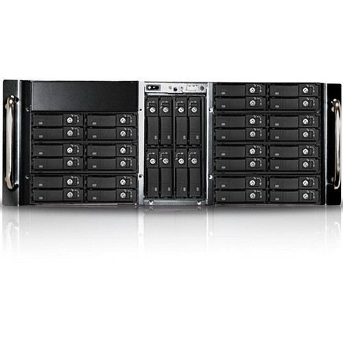 "iStarUSA D-410-B36SS 4U 36-Bay 2.5"" HDD Storage Server Rackmount (Black)"