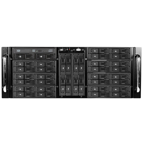 "iStarUSA 4 RU 38-Bay Trayless 2.5"" HDD Slim ODD Storage Server Rackmount Chassis"