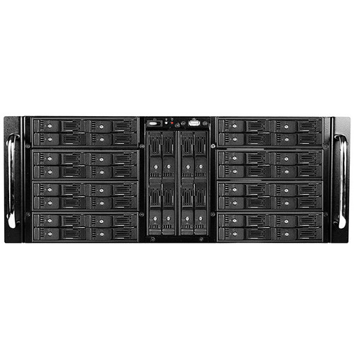 """iStarUSA 4 RU 40-Bay Trayless 2.5"""" HDD Storage Server Rackmount Chassis"""