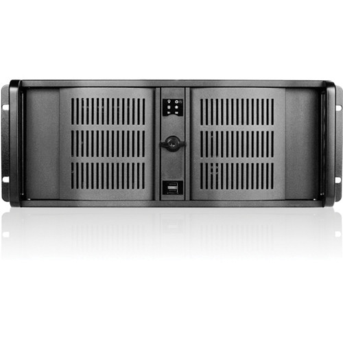 iStarUSA D-414 4U 14 Slots Industrial PC Rackmount Chassis (Black)