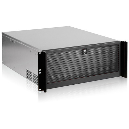 iStarUSA D-416-70P8B 4 RU Compact Stylish Rackmount Chassis with TC-700PD8B 700W Power Supply