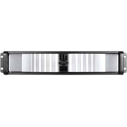 iStarUSA D Storm D-200SEA-SL 2U Compact Stylish Rackmount Chassis with Silver SEA Bezel