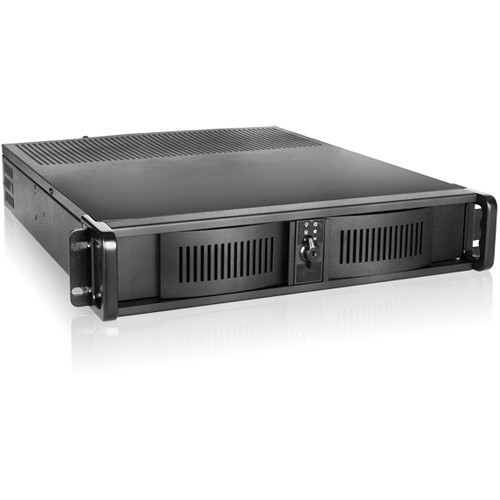 iStarUSA D Storm Series D-200 2U Compact Stylish Rackmount Chassis (Black)