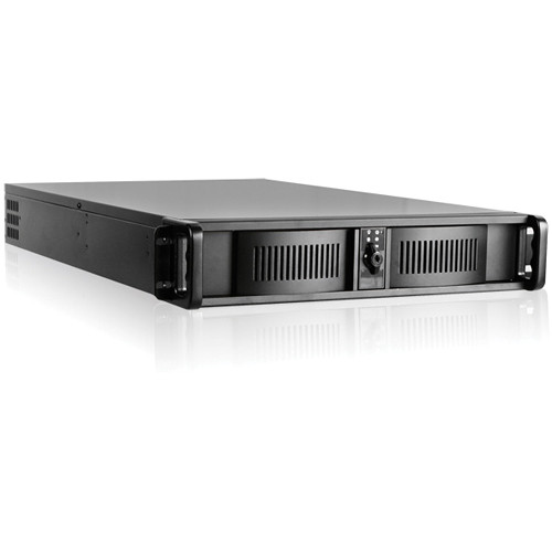 iStarUSA D Storm Series D-200L 2U High-Performance Rackmount Chassis (Black)