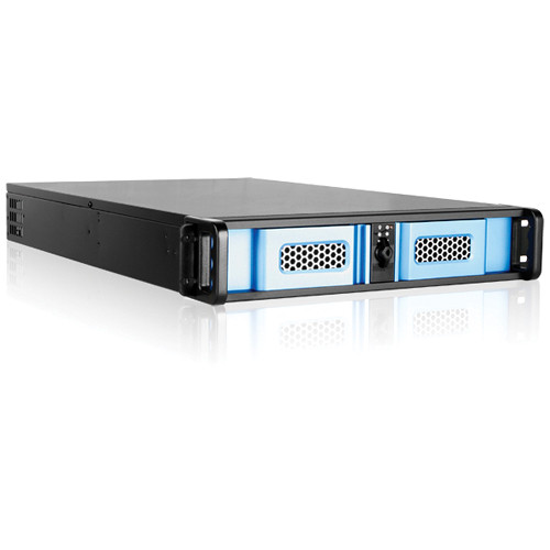 iStarUSA D Storm D-200LSE 2U High-Performance Rackmount Chassis (Blue)