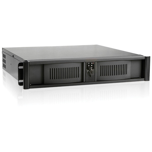 iStarUSA D Storm D-200S 2U Compact Stylish Rackmount Chassis (Black)