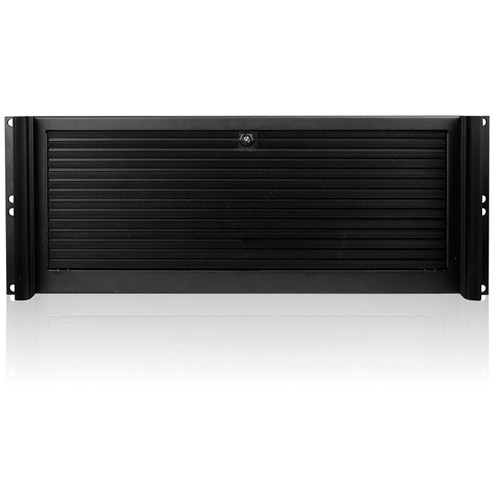 "iStarUSA D Value Series D-416-4B126SA 4U Compact Stylish Rackmount Chassis for 24 x 2.5"" Hotswap Drives PS2 PSU (Black)"