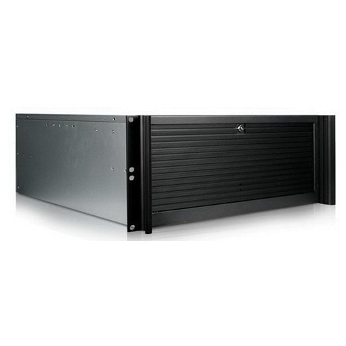 iStarUSA D Value Series D-416-B5SA 4U Compact Stylish Rackmountable Chassis (Black)