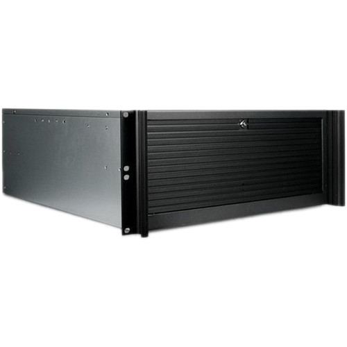 iStarUSA D Value Series D-416-B6SA 4U Compact Stylish Rackmountable Chassis (Black)