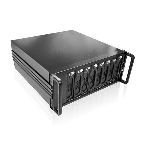 iStarUSA 4U 8-Bay SATA eSATA JBOD 500W PSU Enclosure (Black)