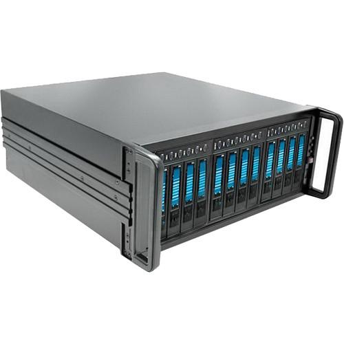 iStarUSA 4U 12-Bay SATA miniSAS SFF8088 JBOD Enclosure (500W)