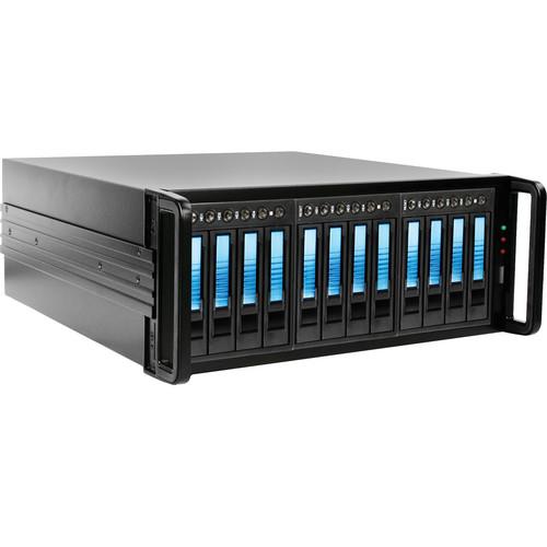 iStarUSA 4U 12-Bay SATA eSATA JBOD Enclosure (500W)