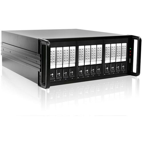 iStarUSA DAGE412U40DE-3MS 12-Bay Mini-SAS RAID Enclosure (Silver)