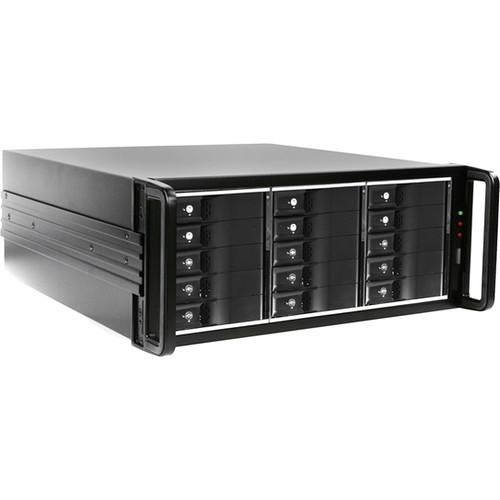 iStarUSA 4U 15-Bay PM JBOD Trayless 750W