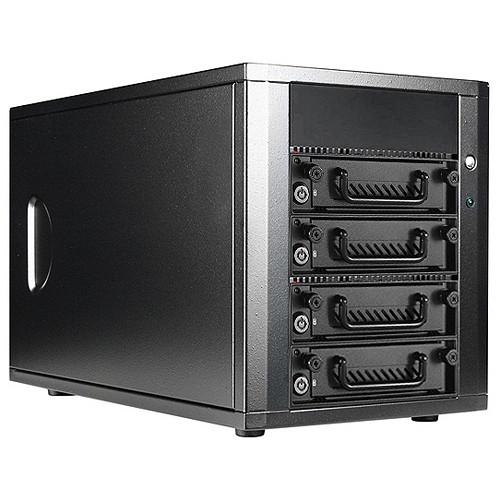 iStarUSA 4-Bay SAS/SATA 6.0 Gb/s miniSAS Hotswap JBOD Enclosure
