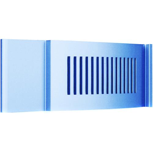 iStarUSA D-200 Front Bezel Door (2 RU, Blue)
