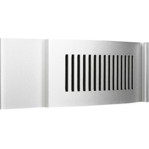 iStarUSA D-200 Front Bezel Door (2 RU, Silver)