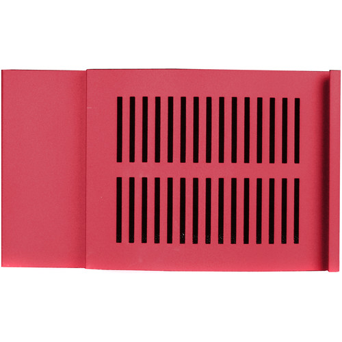 iStarUSA D-300 Front Bezel Door (3 RU, Red)
