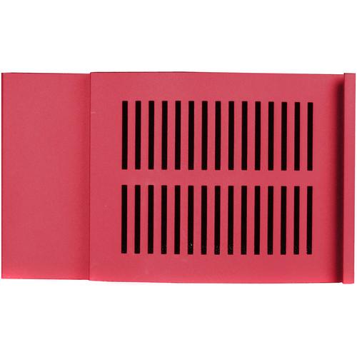 iStarUSA D-300 Front Bezel Door (3 RU, Red)