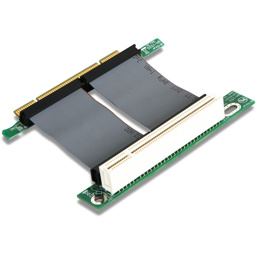 "iStarUSA PCI to PCI Riser Card with 2"" Ribbon Cable"
