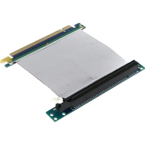 """iStarUSA 16 x PCIe to 16 x PCIe Riser Card with 2"""" Ribbon Cable"""