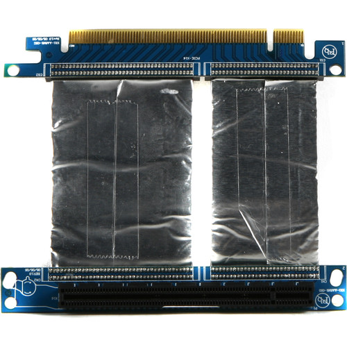 "iStarUSA PCIe x16 Riser Card with 3"" Ribbon Cable"