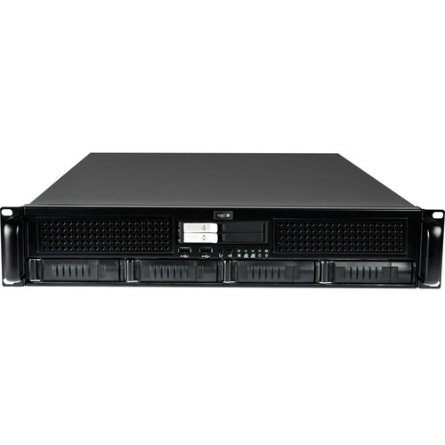 iStarUSA E2M4-25M2SA E-ATX Storage Server Kit (2 RU)