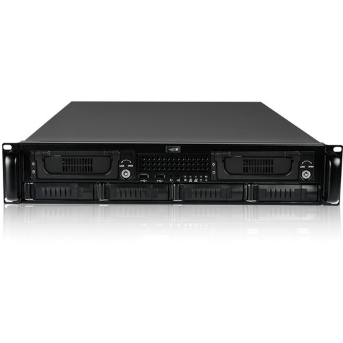 iStarUSA E2M4-2T7SA E-ATX Storage Server Kit (2 RU)