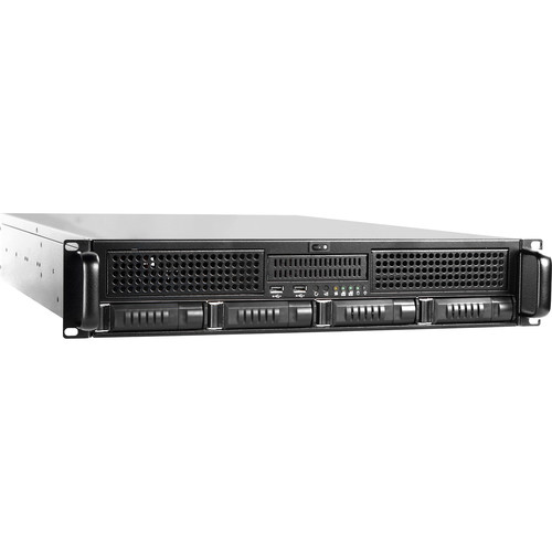 iStarUSA E2M4-80S2U8 4-Bay Storage Server Kit (2 RU)