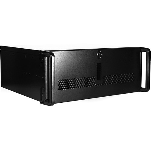 """iStarUSA Rugged Compact 15"""" Rackmount Chassis with 500W Redundant Power Supply (4 RU)"""