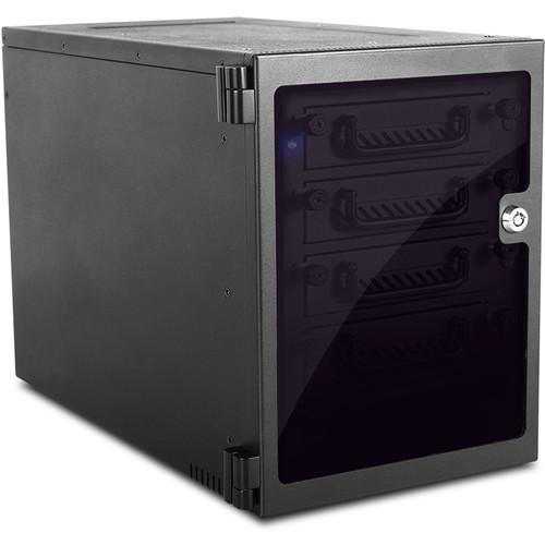 iStarUSA 5-Bay SATA 6.0 Gb/s eSATA-Port Multiplier Hotswap Tower (Black)