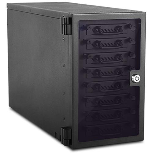 "iStarUSA 8-Bay 2.5"" SAS/SATA 6.0 Gb/s miniSAS Hotswap Tower (Black)"