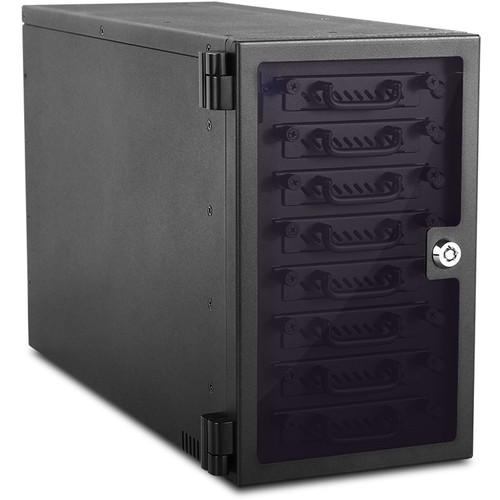 "iStarUSA 8-Bay 2.5"" SATA 6.0 Gb/s eSATA USB 3.0 Hotswap JBOD Tower (Black)"
