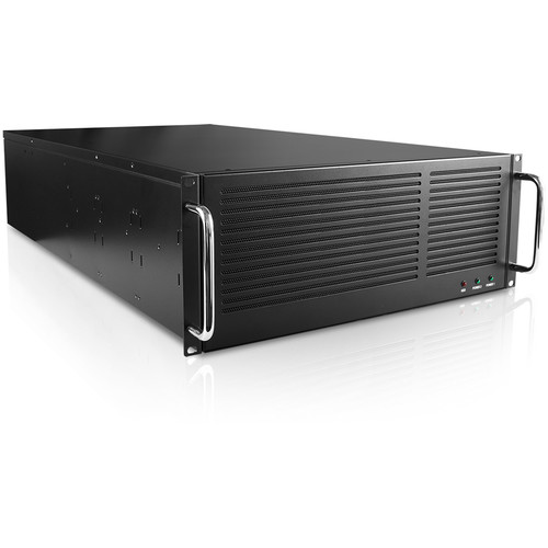 """iStarUSA 45 x 3.5"""" HDD Bays EATX Storage Server Chassis eSATA Port Multiplier with 750W PS2 ATX Power Supply (4 RU)"""