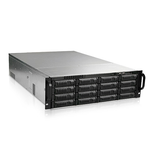 iStarUSA EX3M16 16-Bay Storage Server 3 RU Rackmount Case with 600W Power Supply