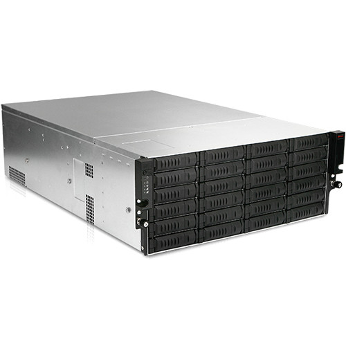 iStarUSA EX4M36EXP 4 RU 36-Bay Storage Server Rackmount Chassis with SAS Expander & 800W Redundant Power Supply
