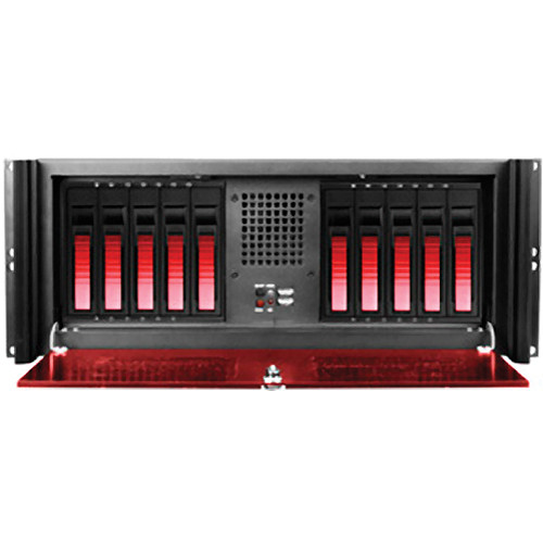 iStarUSA iStarUSA D416-B10RD-RD 4U Compact Stylish Rack-Mountable Chassis Kit